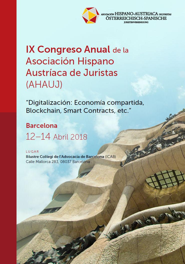 IX Congreso Anual de la Asociación Hispano Austríaca de Juristas