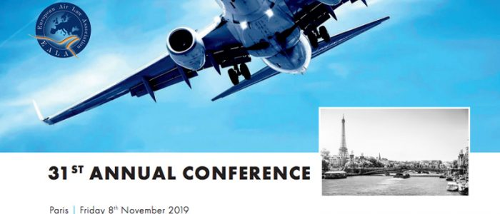 AUGUSTA ABOGADOS attends the 31st Annual Conference of the European Air Law Association.