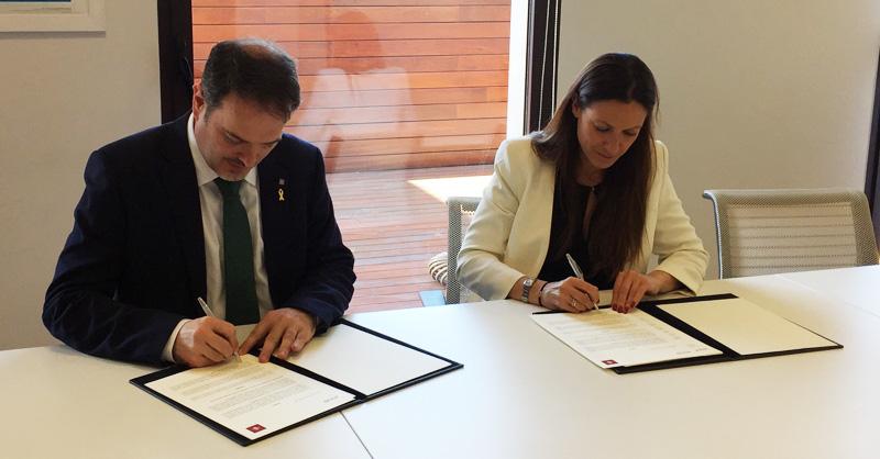 Convenio de colaboración entre ACCIÓ y el Ilustre Colegio de la Abogacía de Barcelona