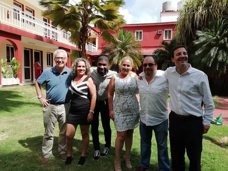 Con ocasión del Diplomado de la IBA dirigido a abogados cubanos, Carlos Valls, junto con Horacio López-Portillo (México) y Javier Canosa (Argentina) participaron como profesores en el módulo de tres días sobre compraventas internacionales y comercio exterior.