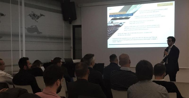 Augusta Abogados presente en la reunión anual de Catalonia Smart Drones
