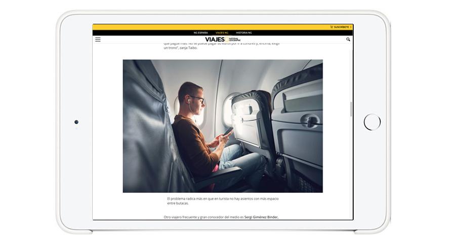 Etiqueta a bordo: ¿reclinar o no reclinar el asiento? –Viajes National Geographic.